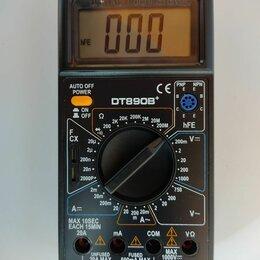 Измерительные инструменты и приборы - Мультиметр цифровой dt890b+, 0