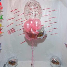 Воздушные шары - Фонтан из шаров на день рождения, 0