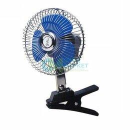 Отопление и кондиционирование  - Вентилятор автомобильный салона d=200мм 24В, 0