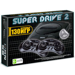 Ретро-консоли и электронные игры - Приставка игровая 16bit Super Drive Classic S2-130, 0