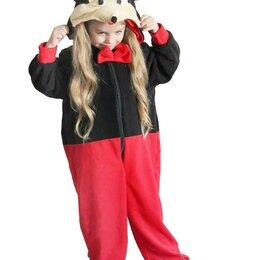 "Кигуруми - Пижама Кигуруми ""Мышка"" черно-красный, размер с 3 до 7 лет арт.ING6 (5 лет), 0"
