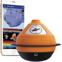 Оборудование Wi-Fi и Bluetooth - Беспроводной эхолот Практик 7 Wi-Fi, 0