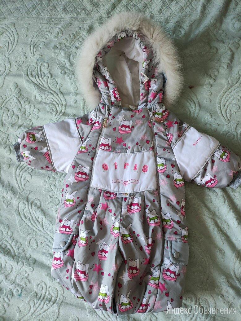 Комбинезон нурра 74 зимний с утепленной съемной подкладкой из овечьей шерсти по цене 2700₽ - Теплые комбинезоны, фото 0