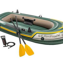 Надувные, разборные и гребные суда - Двухместная Надувная лодка ПВХ новая нднд Оригинал, 0