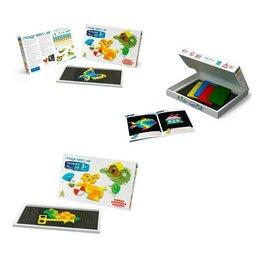 Мозаика - Мозаика  290 элементов 10 цветов 40 этюдов Magneticus MM-290, 0