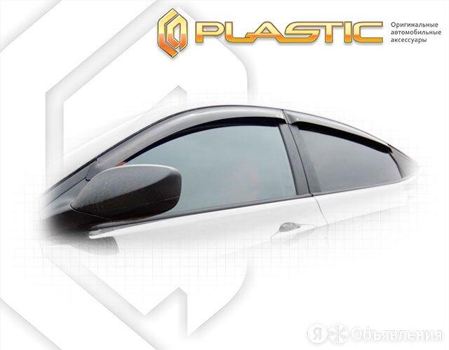 Дефлекторы окон (Classic полупрозрачный) Hyundai Solaris седан 2011 - 2013 г.... по цене 1340₽ - Кузовные запчасти, фото 0