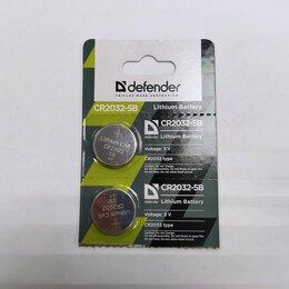 Батарейки - Батарейка литиевая Defender CR2032-5B 1 шт, 0