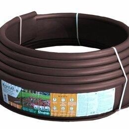 Тротуарная плитка, бордюр - Бордюр KANTA PRO Б-1000.15.03-ПП пластиковый коричневый, 0