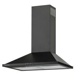 Мебель для кухни - BELLA 600 BLACK push button вытяжка кухонная, 0