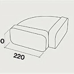 Вытяжки - Короб к вытяжке FALMEC KACL 367, 0