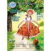 """Русский народный костюм """"Хохлома"""", платье, кокошник, цвет красный, р-р 36, ро... по цене 2810₽ - Карнавальные и театральные костюмы, фото 2"""