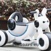 Детский электромотоцикл MOTO HL 300 белый по цене 7750₽ - Электромобили, фото 0