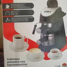 Кофеварки и кофемашины - Кофеварка рожковая aresa ar-1601 800вт 240мл 3.5бар капучинатор (4), 0