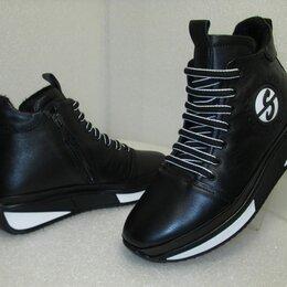 Ботинки - Ботинки из натуральной кожи турецкие утеплённые, 0