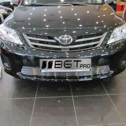 Кузовные запчасти - Декоративная решетка в бампер для Toyota Corolla 150, 0