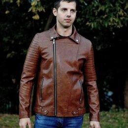 Костюмы - Куртка мужская кожзаменитель, 0