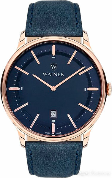Наручные часы Wainer WA.11011-K по цене 28200₽ - Наручные часы, фото 0