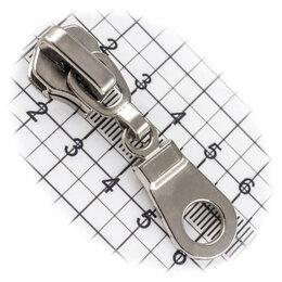 Аксессуары и запчасти - Бегунок №08, для металлической молнии, капля, никель, 0