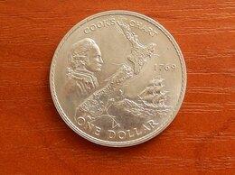 Монеты - НОВАЯ ЗЕЛАНДИЯ  1 доллар 1969 г., 0