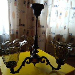 Люстры и потолочные светильники - Продам отреставрированную люстру за 500 рублей , 0