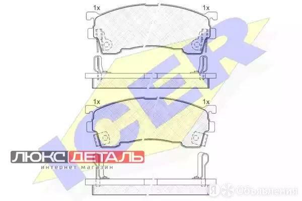 ICER 180971 180971_колодки дисковые передние \ Mazda 626 1.8-2.5/2.0D/Xedos6 ... по цене 1307₽ - Тормозная система , фото 0