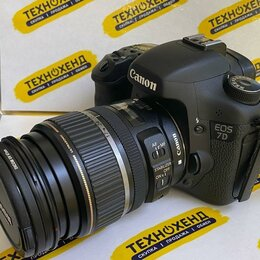 Фотоаппараты - Фотоаппарат Canon EOS 7D (кк-73756), 0