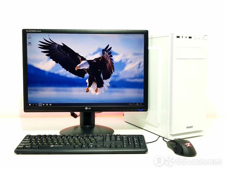 Системный блок на AMD + SSD + DDR4 8Gb + Монитор по цене 23000₽ - Настольные компьютеры, фото 0