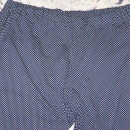 Брюки - Легкие летние трикотажные штаны 50-52, 0