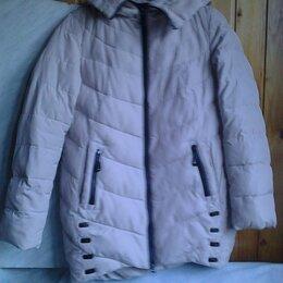 Куртки - Куртка женская бежевая, 0
