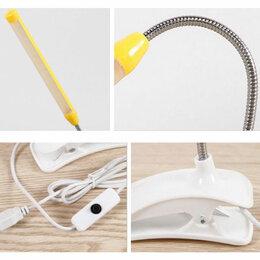 Кабели и разъемы - Гибкая лампа для чтения USB Led Tube Light, 0