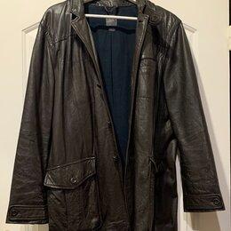 Куртки - Кожаная мужская куртка Armani Exchange оригинал L/M, 0