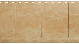 Фасадные панели - Панель Фасадная плитка, Травертин, 1160х450мм, 0