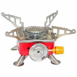 Туристические горелки и плитки - Плитка газовая портатив GS-200, 1,87кВт (11х10х8см)(КОД:378027), 0