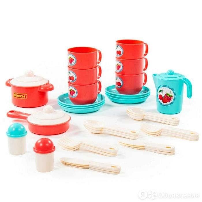 Набор детской посуды 'Хозяюшка', на 6 персон, 38 элементов по цене 1258₽ - Тарелки, фото 0