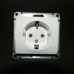 Электроустановочные изделия - Розетка Schneider electric  с заземлением, 0