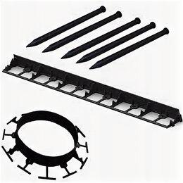 Тротуарная плитка, бордюр - Пластиковый бордюр 45 мм, 58,мм, 79 мм длина 1 м, 0