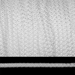 Изоляционные материалы - Шнур круглый, полипропилен, 6 мм x 200 метров, цвет: белый, арт. ЭЛШХ-06, 0