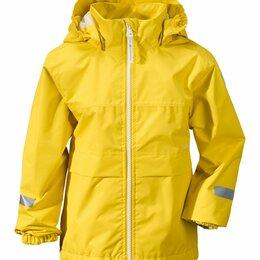 Куртки и пуховики - Куртка детская Didriksons DROPPEN, желтый, 502343 (Размер: 110), 0