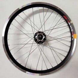 """Обода и велосипедные колёса в сборе - Колесо 26"""" заднее двойной обод, торм. втулка, 0"""