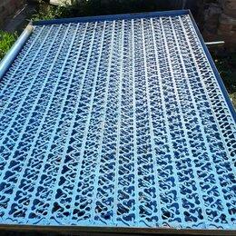 Заборчики, сетки и бордюрные ленты - Решетка металлическая для ограждения  Плита газовая 60см, 0