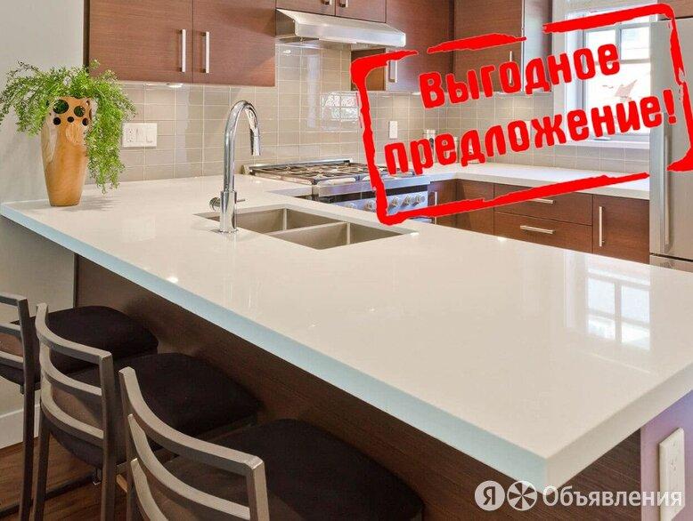 Столешница под заказ из искусственного камня по цене 4890₽ - Мебель для кухни, фото 0