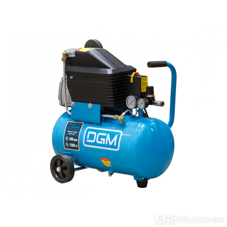 Компрессор DGM AC-127 (235 л/мин, 8 атм, коаксиальный, масляный, ресив. 24 л, 22 по цене 9680₽ - Аксессуары и запчасти, фото 0