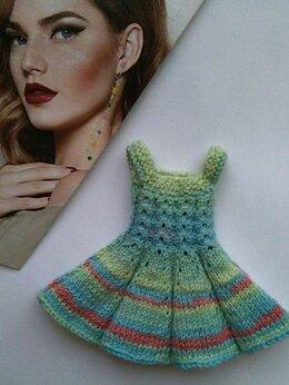 Аксессуары для кукол - Платье на куклу Паола Рейна (Paola Reina), 0
