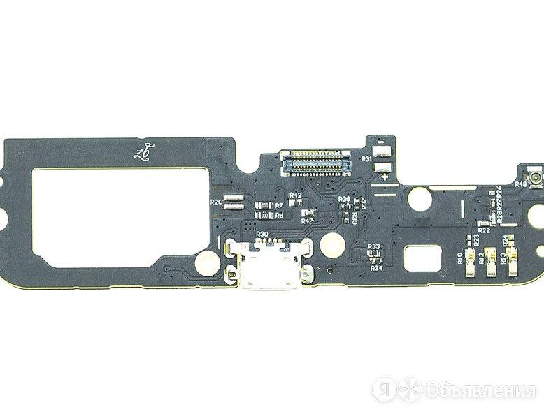 Нижняя плата для Lenovo K5 Note с разъемом зарядки (micro-USB) и микрофоном по цене 200₽ - Запчасти и аксессуары для планшетов, фото 0