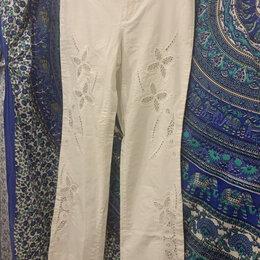 Джинсы - Штаны брюки джинсы кружевные 28(42) белые JF Ferre, 0