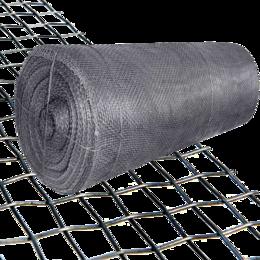 Заборчики, сетки и бордюрные ленты - Сетка фасадная 5x5 20м, 0