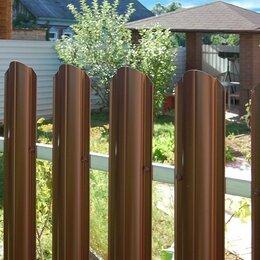 Заборы, ворота и элементы - Металлический штакетник LTE® (МП LАNE, МП TRAPEZE, МП ELLIPSE) , 0