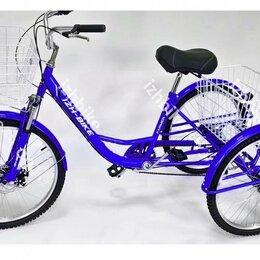 Велосипеды - Велосипед трехколесный взрослый Farmer IВ-3W 24''6 скор., 0