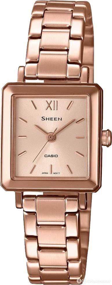 Наручные часы Casio SHE-4538PG-4AUDF по цене 15290₽ - Наручные часы, фото 0