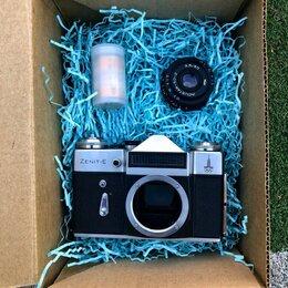 Пленочные фотоаппараты - Зенит Е ретороbox, 0